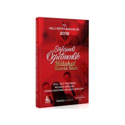 İndeks Akademi Yayıncılık - İndeks Akademi Yayıncılık 2018 Sözleşmeli Öğretmenlik Mülakata Hazırlık Kitabı