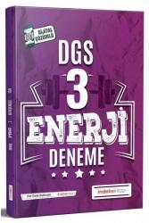 İndeks Kitap - İndeks Kitap 2020 DGS Enerji Çözümlü 3 Deneme
