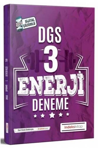 İndeks Kitap 2020 DGS Enerji Çözümlü 3 Deneme