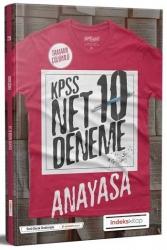 İndeks Kitap - İndeks Kitap 2020 KPSS Anayasa Net Çözümlü 10 Deneme