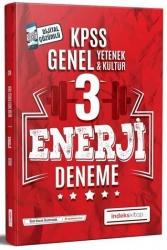 İndeks Kitap - İndeks Kitap 2020 KPSS Genel Yetenek Genel Kültür Enerji Çözümlü 3 Deneme