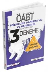 İndeks Kitap - İndeks Kitap 2021 ÖABT Psikolojik Danışma ve Rehberlik Öğretmenliği 3 Deneme Çözümlü
