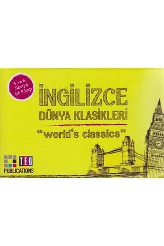 İngilizce Dünya Klasikleri 5. ve 6. Seviye 68 Kitap Takım Teg Publications