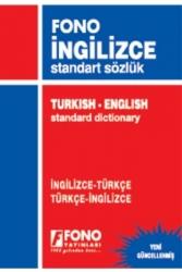 Fono Yayınları - İngilizce Standart Sözlük Fono Yayınları