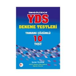 Pelikan Yayıncılık - İngilizce YDS Tamamı Çözümlü 10 Deneme Testi