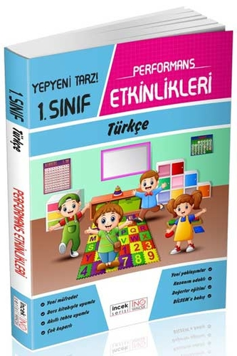 İnovasyon Yayıncılık 1. Sınıf Türkçe Performans Etkinlikleri