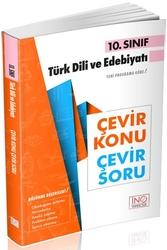 İnovasyon Yayıncılık - İnovasyon Yayıncılık 10. Sınıf Türk Dili ve Edebiyatı Çevir Konu Çevir Soru