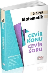 İnovasyon Yayıncılık - İnovasyon Yayınları 9. Sınıf Matematik Çevir Konu Çevir Soru