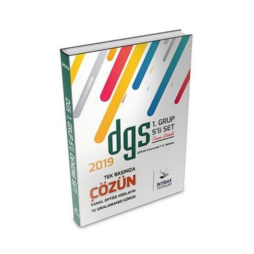 İntibak Yayınları 2019 DGS TG Çözümlü İlk 5 Deneme