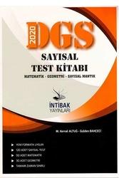 İntibak Yayınları - İntibak Yayınları 2020 DGS Sayısal Test Kitabı