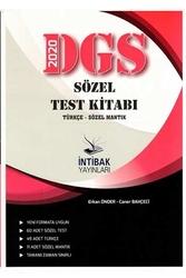 İntibak Yayınları - İntibak Yayınları 2020 DGS Sözel Test Kitabı