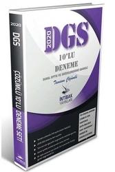 İntibak Yayınları - İntibak Yayınları 2020 DGS Tamamı Çözümlü 10'lu Deneme