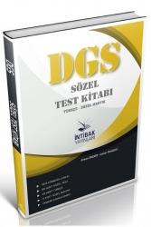 İntibak Yayınları - İntibak Yayınları 2021 DGS Sözel Test Kitabı