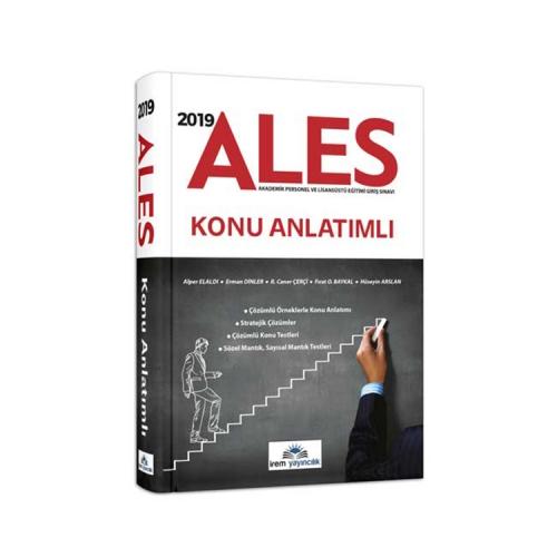 İrem Yayıncılık 2019 ALES Konu Anlatımlı