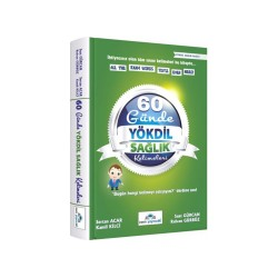 İrem Yayıncılık - İrem Yayıncılık 60 Günde YÖKDİL Sağlık Kelimeleri