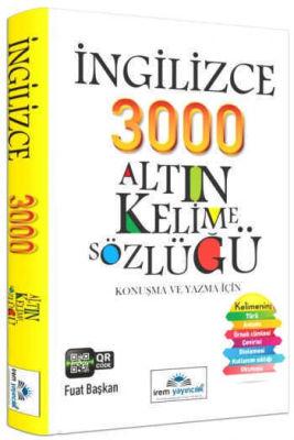 İrem Yayıncılık İngilizce 3000 Altın Kelime Sözlüğü