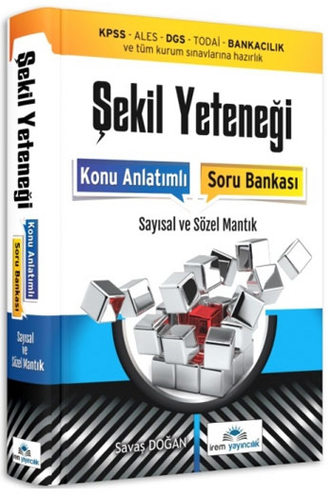 İrem Yayıncılık Şekil Yeteneği Konu Anlatımlı Soru Bankası