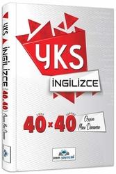 İrem Yayıncılık - İrem Yayıncılık YKS İngilizce 40×40 Özgün Mini Denemeler