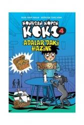 İş Bankası Kültür Yayınları - İş Bankası Kültür Yayınları Konuşan Köpek Koko 4 - Adalar'daki Hazine