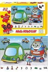 Joho Toys - Joho Toys Akıllı Robotlar 60 Parça Puzzle