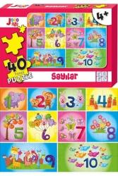 Joho Toys - Joho Toys Sayılar 40 Parça Puzzle