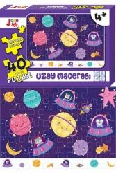 Joho Toys - Joho Toys Uzay Macerası 40 Parça Puzzle