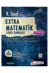 Kafa Dengi Yayınları - Kafa Dengi Yayınları 9. Sınıf Matematik Extra Soru Bankası