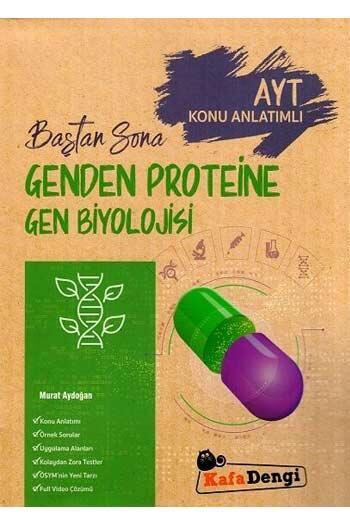 Kafa Dengi Yayınları - Kafa Dengi Yayınları AYT Genden Proteine Gen Biyolojisi Baştan Sona Konu Anlatımlı