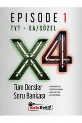 Kafa Dengi Yayınları - Kafa Dengi Yayınları TYT EA Sözel X4 Tüm Dersler Soru Bankası Episode 1