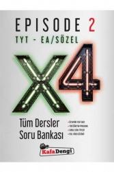 Kafa Dengi Yayınları - Kafa Dengi Yayınları TYT EA Sözel X4 Tüm Dersler Soru Bankası Episode 2