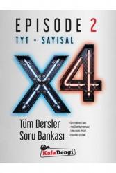 Kafa Dengi Yayınları - Kafa Dengi Yayınları TYT Sayısal X4 Tüm Dersler Soru Bankası Episode 2