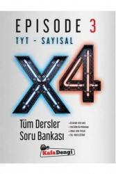 Kafa Dengi Yayınları - Kafa Dengi Yayınları TYT Sayısal X4 Tüm Dersler Soru Bankası Episode 3
