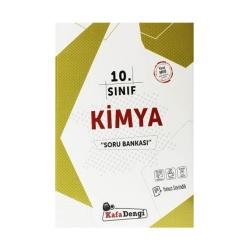 Kafa Dengi Yayınları - Kafadengi Yayınları 10. Sınıf Kimya Soru Bankası