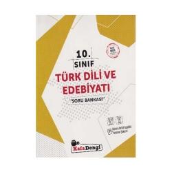 Kafa Dengi Yayınları - KafaDengi Yayınları 10. Sınıf Türk Dili ve Edebiyatı Soru Bankası