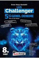 Kafa Dengi Yayınları - Kafadengi Yayınları 8. Sınıf LGS Challenger 5'li Genel Deneme