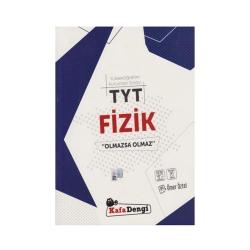 Kafa Dengi Yayınları - KafaDengi Yayınları TYT Fizik Olmazsa Olmaz Soru Bankası