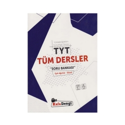 Kafa Dengi Yayınları - KafaDengi Yayınları TYT Tüm Dersler Eşit Ağırlık Sözel Soru Bankası