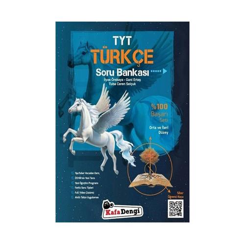 KafaDengi Yayınları TYT Türkçe Orta ve İleri Düzey Soru Bankası