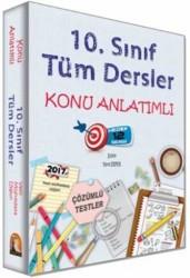 Kapadokya Yayınları - Kapadokya Yayınları 10. Sınıf Tüm Dersler Konu Anlatımlı