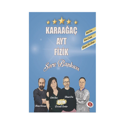 Karaağaç Yayınları - Karaağaç Yayınları AYT Fizik Soru Bankası