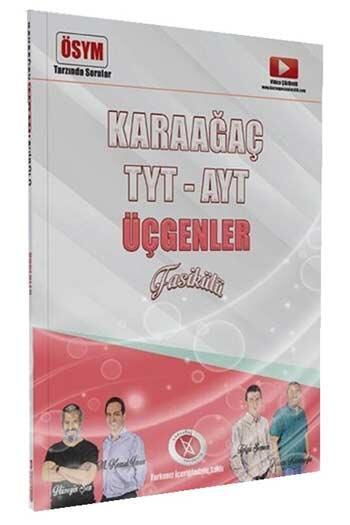 Karaağaç Yayınları - Karaağaç Yayınları TYT AYT Üçgenler Fasikülü