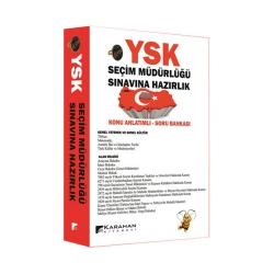 Karahan Kitabevi - Karahan Kitabevi YSK Seçim Müdürlüğü Sınavına Hazırlık Konu Anlatımlı Soru Bankası