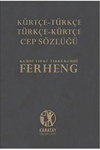 Karatay Yayınları Kürtçe-Türkçe Cep Sözlük