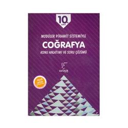 Karekök Yayınları - Karekök Yayınları 10.Sınıf Coğrafya Konu Anlatımlı ve Soru Çözümü