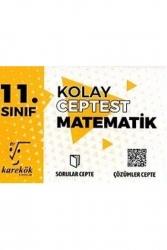Karekök Yayınları - Karekök Yayınları 11. Sınıf Matematik Kolay Cep Test