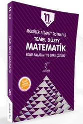 Karekök Yayınları - Karekök Yayınları 11. Sınıf Matematik Temel Düzey Konu Anlatımı ve Soru Çözümü