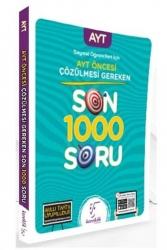 Karekök Yayınları - Karekök Yayınları 2021 Sözel Öğrencileri İçin AYT Öncesi Çözülmesi Gereken Son 1000 Soru