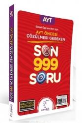 Karekök Yayınları - Karekök Yayınları 2021 Sözel Öğrencileri İçin AYT Öncesi Çözülmesi Gereken Son 999 Soru