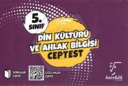 Karekök Yayınları - Karekök Yayınları 5.Sınıf Din Kültürü ve Ahlak Bilgisi Cep Test