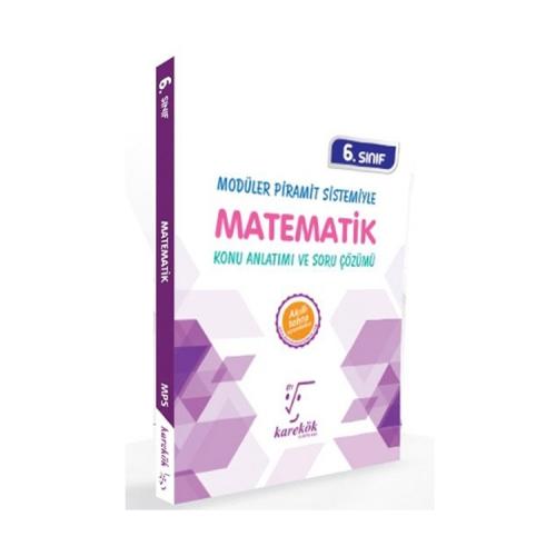 Karekök Yayınları 6. Sınıf Matematik Konu Anlatımı ve Soru Çözümü